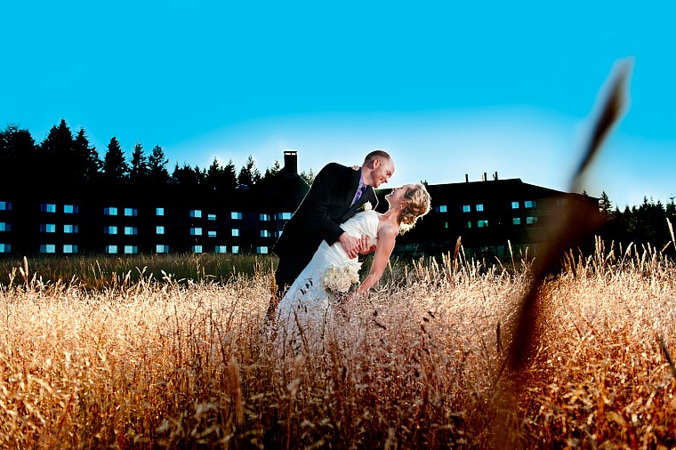Amanda + Kyle's wedding at the beautiful Skamania Lodge in Stevenson, WA in the Columbia River Gorge.